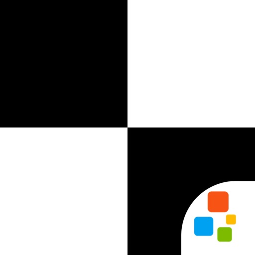 White Tiles 4 : Piano Master ( Don't Touch the White Tile and Trivia games ) - Free Icon