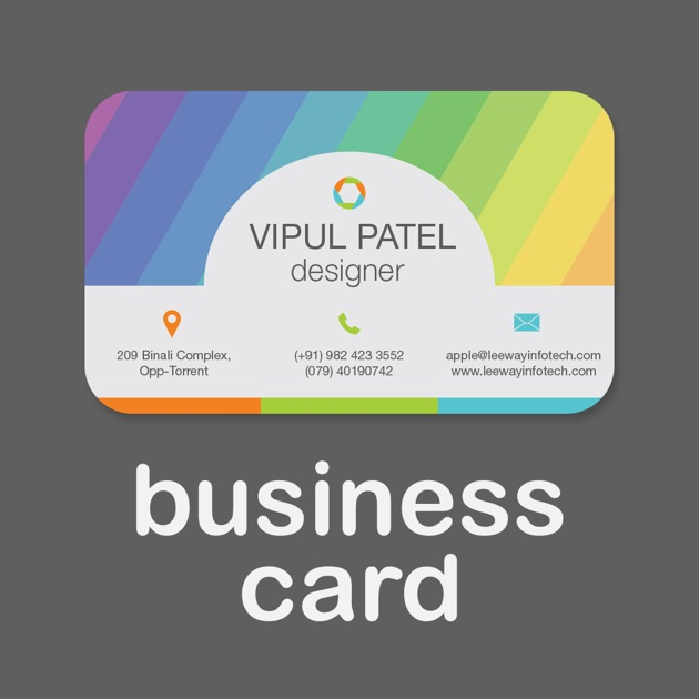 Business card creator create custom design print your for App to make business cards