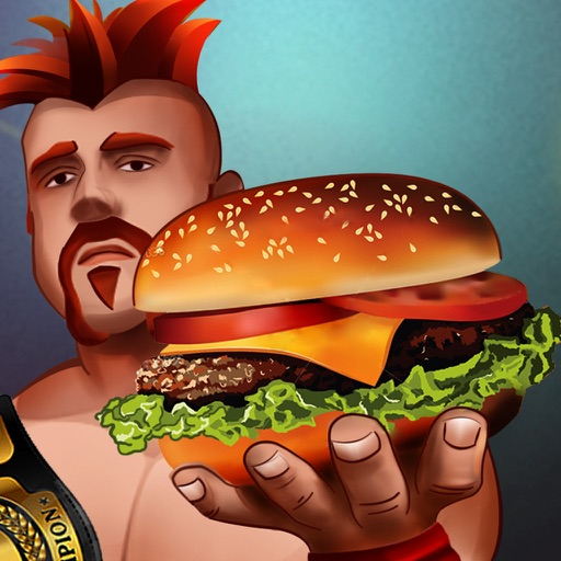 Wrestler-s Food Court Fever :Super Master-Chef Ham-burger & Pizza Restaurant (Wrestling Lover Edition) iOS App