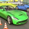 Futuristic Racing car parking for Speed Racer racer racing speed