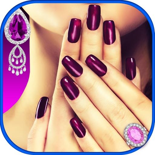 Princess Nails Studio – Royal Design and Luxury Nail Spa Game for Girl.s iOS App
