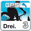 upmove GPS for mountainbike powered by Drei