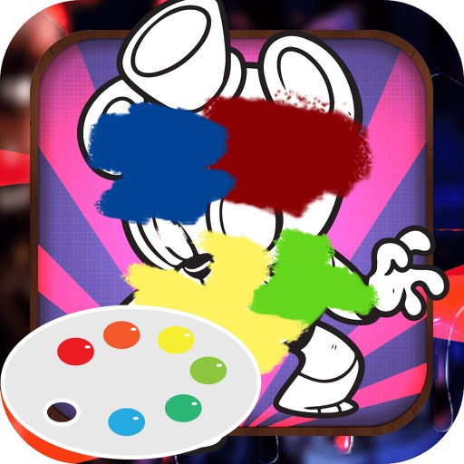 Color Book Game for Kids: Five Nights At Freddy´s Version Icon