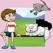 动物儿童游戏:婴儿猫,小猫应用小的孩子:填色书和益智