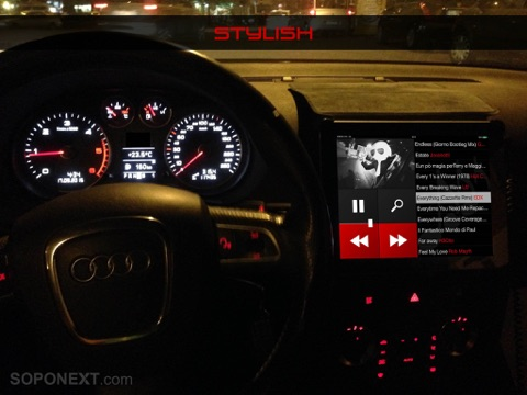 MEGAPLAY - The Best Car Music Player with Big Interface Screenshots