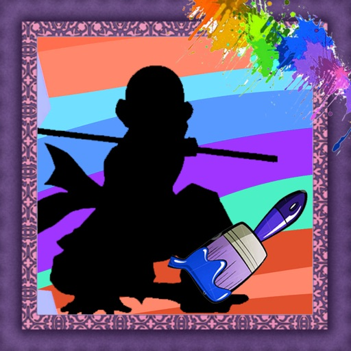 Color For Kids Game Avatar Airbender Edition iOS App