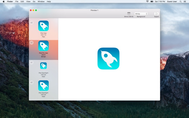 IconKit: The Icon Resizer Screenshots