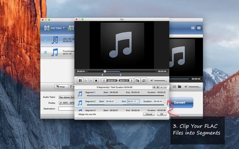 FLAC MP3 Converter- FLAC-Dateien zu MP3 umwandeln Screenshot