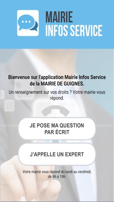 Mairie Infos ServiceCapture d'écran de 1