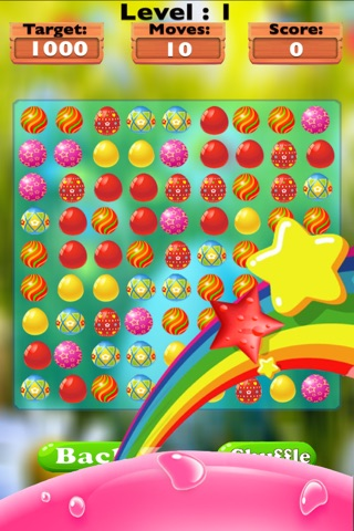Sweet Eggs Candy Mania-The best match three puzzle game for kids and adults screenshot 3