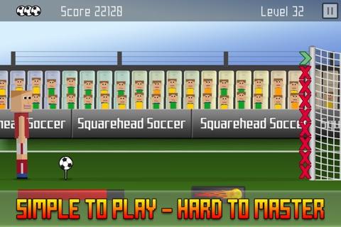 Squarehead Soccer - Kickoff screenshot 4