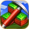 3D Mine Block World Create