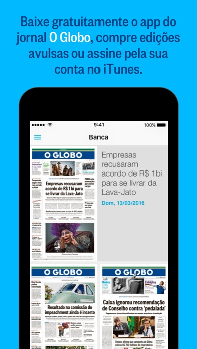 O Globo review screenshots