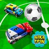 Microcar Fußball - Rennen für Kinder-Auto-Spiel