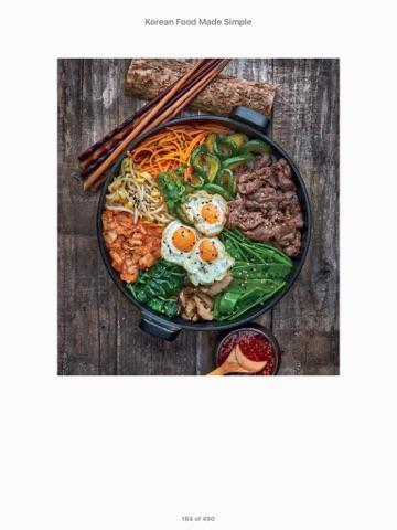 Korean food made simple by judy joo on ibooks screenshot 2 forumfinder Choice Image