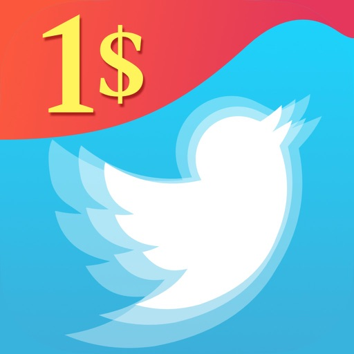 Dollar Twitter Follower iOS App