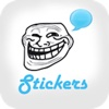 Funny Rages Faces - Stickers for WhatsApp, Viber, Telegram, Tango & Messengers rage 2