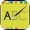 L'inglese HD per i bambini: imparare a scrivere le lettere ABC e le parole inglesi usate
