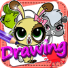 Drawing Desk  Littlest Pet Shop : Draw and Paint Coloring Book Edition Free Wiki