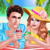 Summer First Date Salon - Romantic Love Story: SPA, Makeup & Dressup Makeover Game
