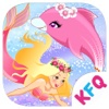 Mermaid princess with dolphin – Girls Makeup, Dressup and Makeover Games
