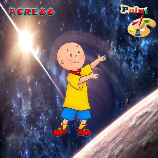 Coloring Book Free Caillou Game Edition iOS App