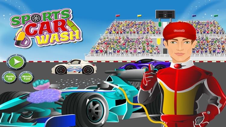 sports car wash design cleaning washing games for kids girls screenshot 3