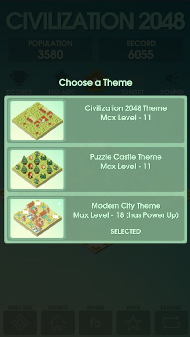 Rebuild Civilization 2048 Screenshot
