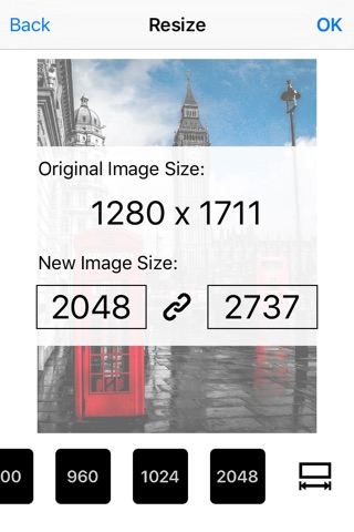 Image Resizer Pro - Image crop rotate resize screenshot 1