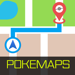 PokeMaps for Pokemon GO - (Actual Pokemon/Pokestop/Gym Locations! See Everything!)