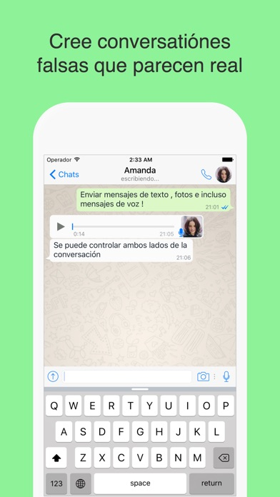 download WhatsPrank Pro - Crear chats falsas para Whatsapp apps 2