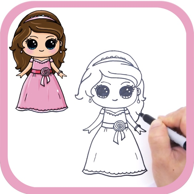 Cute things to draw for a girl
