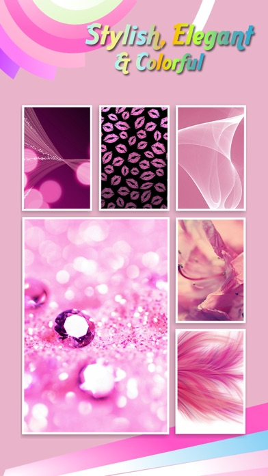 Pink Live Wallpapersretina Lock Screen Themes Girly