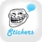 download Funny Rages Faces - Stickers for WhatsApp, Viber, Telegram, Tango & Messengers Pro