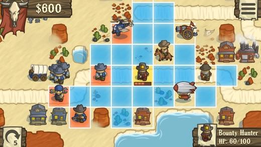 Lost Frontier Screenshot
