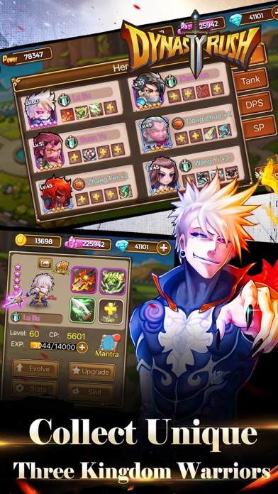 Dynasty Rush - Three Kingdoms Clash Screenshot