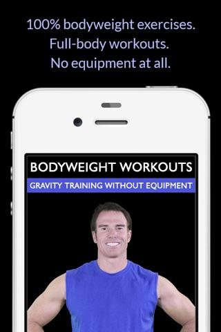 Bodyweight Workouts: Gravity Training Without Equipment screenshot 1