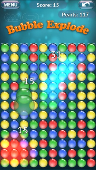 Screenshot of Bubble Explode4