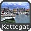 Marine : Kattegat - GPS Map Navigator