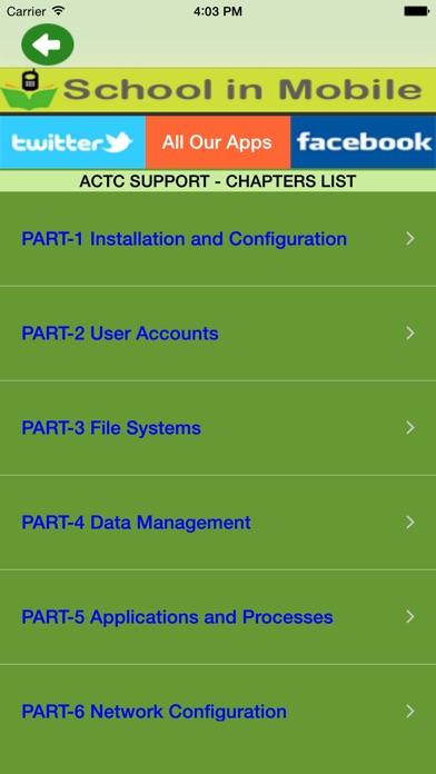 Screenshot of ACTC - OS X Support libero1