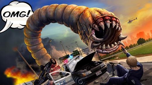 Death Worm Screenshot