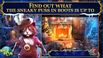 Christmas Stories: Puss in Boots - A Magical Hidden Object Game (Full) screenshot 2