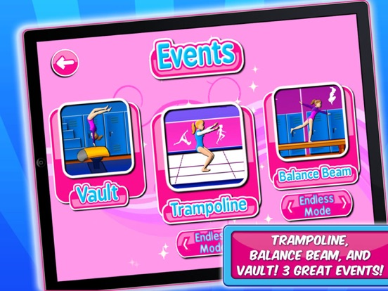 Gymnastic & Dance Girls Game на iPad
