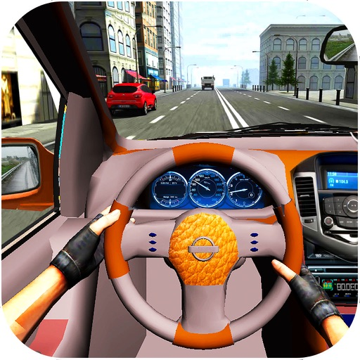 Real City Car Driving : New Traf-fic Game-s iOS App