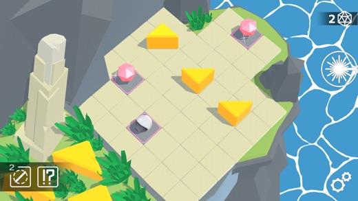 Laserix: Puzzle Islands Screenshot