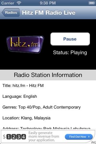 Malaysia Radio Live screenshot 3