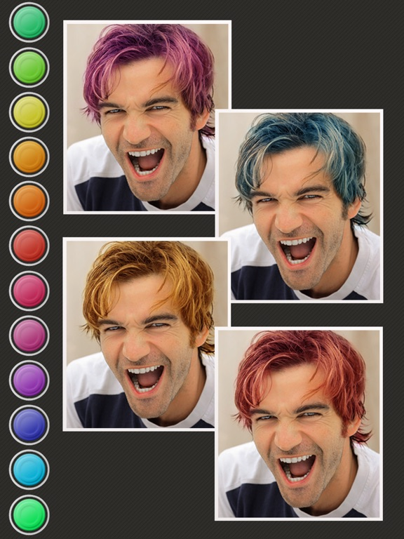 Hair Color Booth On The App Store - Hairstyle colour app