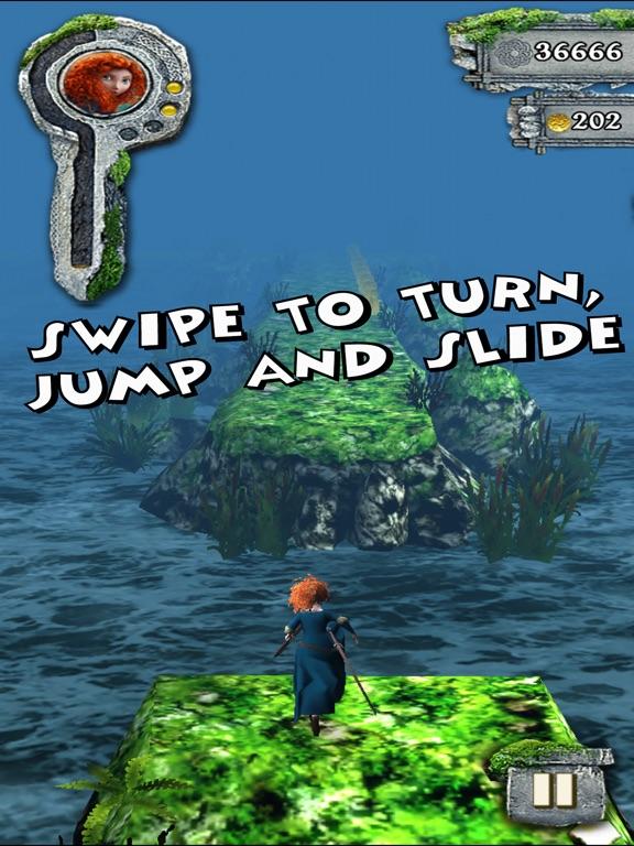 Screenshot #2 for Temple Run: Brave