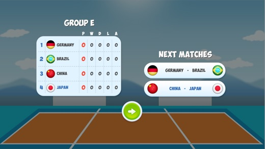 Head Volleyball Tournament and Online Season Screenshot