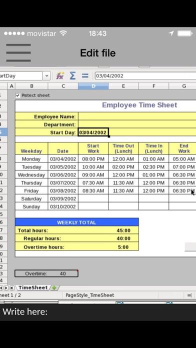GlobalOffice Suite pour LibreOffice xls, doc & odpCapture d'écran de 3